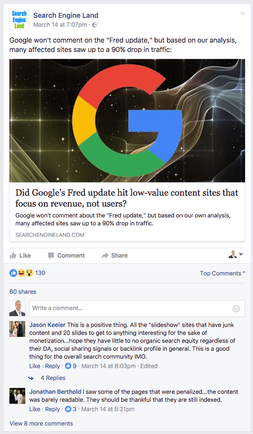 Google´s Fred